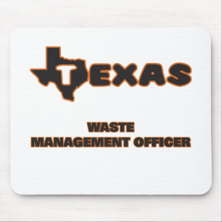 Texas Waste Management Officer Mouse Pad