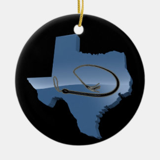 TEXAS WHIP CHRISTMAS ORNAMENT