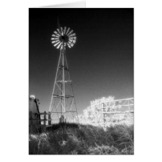 Texas Windmill Card