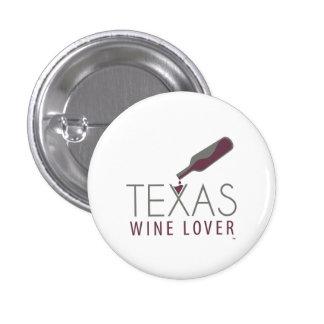 Texas Wine Lover Round Button
