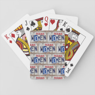 Texas Women Playing Cards