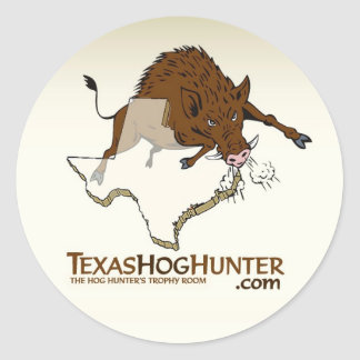 TexasHogHunter.com Sticker