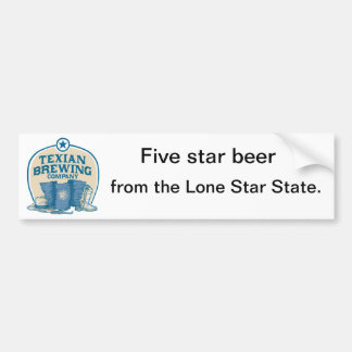 Texian Brewing Co Bumper Stickers