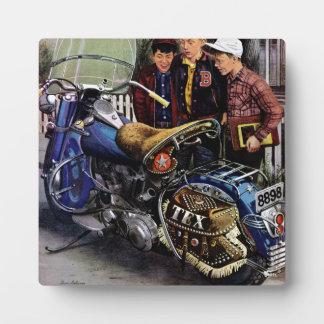 Tex's Motorcycle Plaque