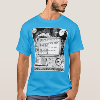 """Text Adventures (A) """"Flavored Defence"""" T-Shirt"""