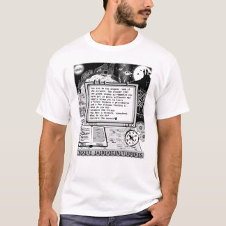 "Text Adventures (A) ""Pterodactyls & Pyramids"" T-Shirt"
