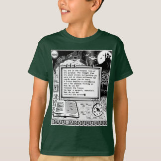 "Text Adventures (A) ""Pterodactyls & Pyramids"" T-Shirt"