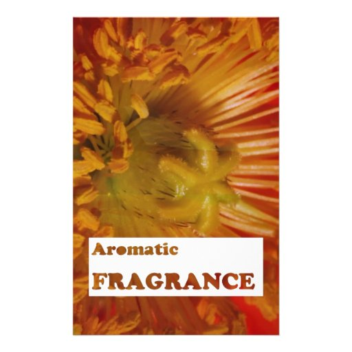 Text: AROMATIC fragrances : Advertise speciality Personalized Stationery