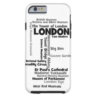"Text Art ""London"" Tough iPhone 6 Case"