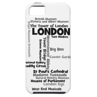 "Text Art ""London"" Case For The iPhone 5"