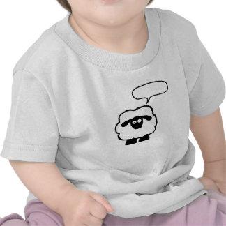 Text Bubble Sheep Baby Shirt
