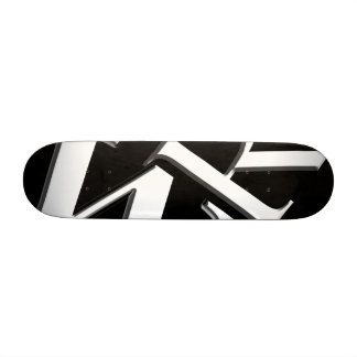 Text Defying Gravity Custom Skate Board