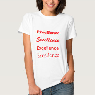 Text EXCELLENCE Motivation Leadership Coach Mentor Shirts