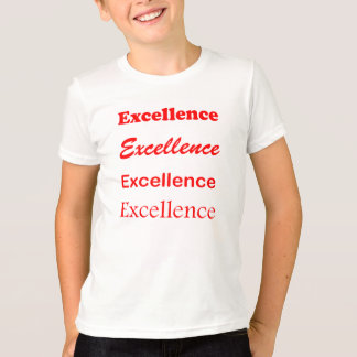 Text EXCELLENCE Motivation Leadership Coach Mentor T-Shirt