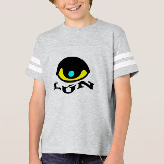 Text in Pijao: lún and a colorful eye T-Shirt