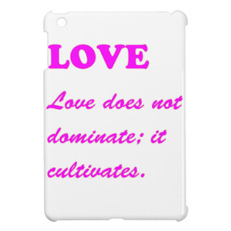 Text: LOVE Romance Pure Hearts HOT lowprice GIFTS Case For The iPad Mini