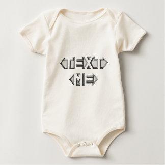 TEXT ME BABY BODYSUIT