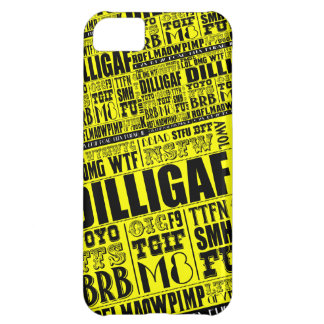 Text messaging slang iPhone 5C case
