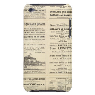 Text Page of Boston and Maine Railroad Case-Mate iPod Touch Case