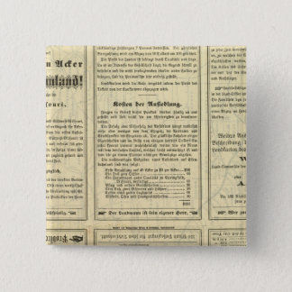 Text Page of St Louis and San Francisco Railway 15 Cm Square Badge