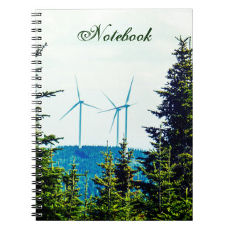 Text Template | Wind Turbines | Natural Park Notebooks