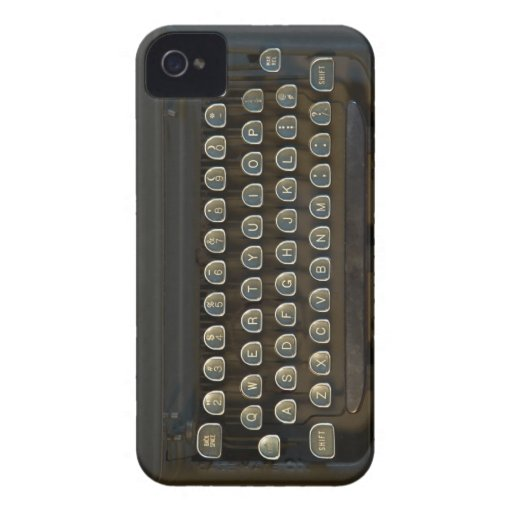 Text the Old Fashioned Way iPhone 4 Case-Mate Case