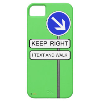 Text Walk iPhone 5 Covers