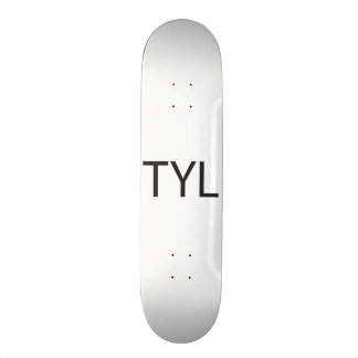 Text You Later -or- Thank You Lord.ai Skate Board Decks