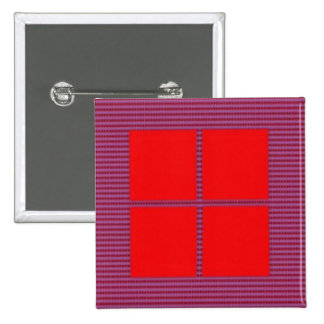 TEXT your SQUARES Template 15 Cm Square Badge