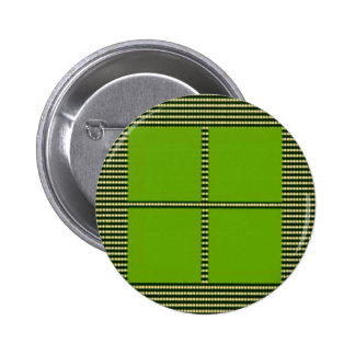 TEXT your SQUARES Template 6 Cm Round Badge