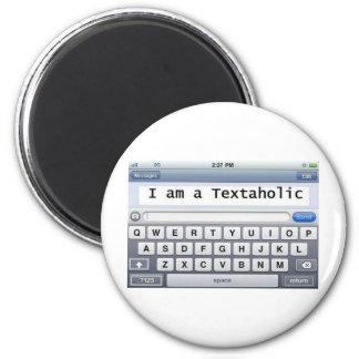 Textaholic Magnet