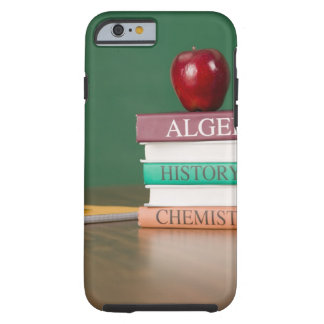 Textbooks and an tough iPhone 6 case
