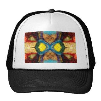 Textile Abstract Cap