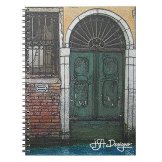 Textile Art Venice Notebook