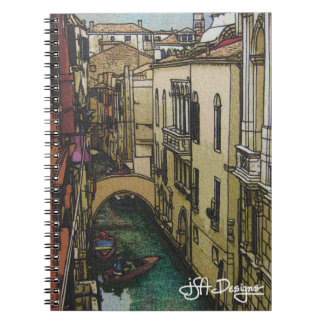 Textile Art Venice Notebook