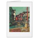 Textile Art Venice Notecard