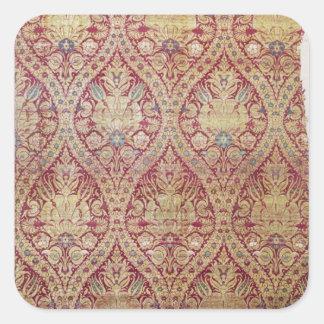 Textile design, 16th/17th century square sticker