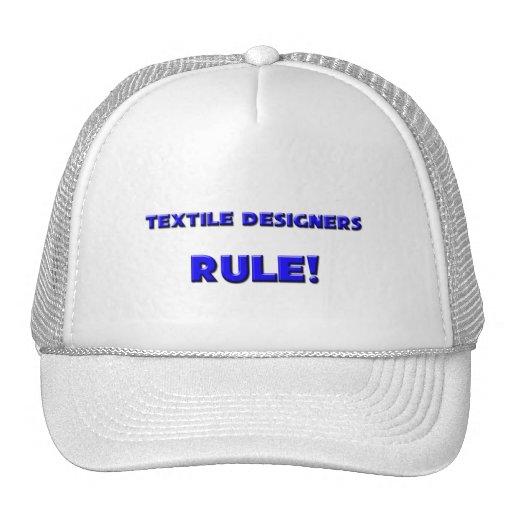 Textile Designers Rule! Trucker Hat