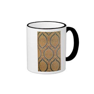 Textile panel, 16th/17th century mugs