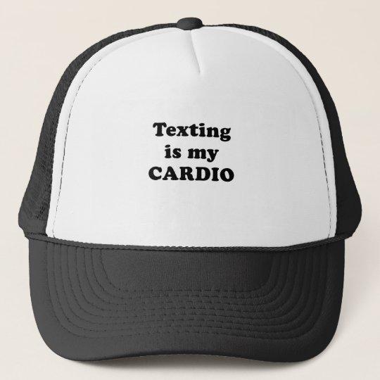 Texting is my Cardio Trucker Hat