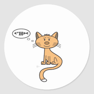 Texting Kitty - Sticker