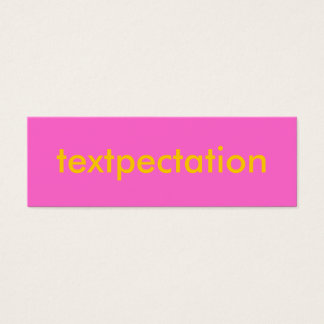 Text messages business cards business card printing zazzle textpectation flirty card colourmoves