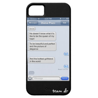 Texts from last night iPhone 5 cover