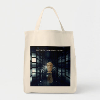 Textshop Experiments Serving Plato Tote Bag