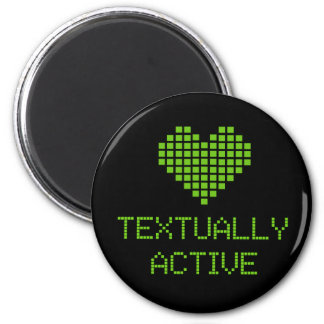 Textually Active - magnet