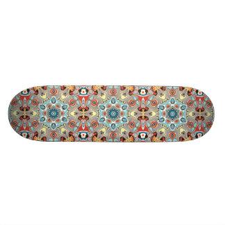 Textural Kaleidoscope Abstract Custom Skate Board