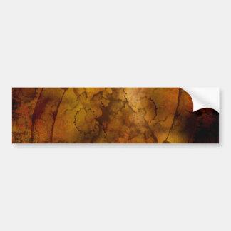 texture-594545 OLD WORLD MAP TRAVEL GOLDEN TREASUR Bumper Sticker
