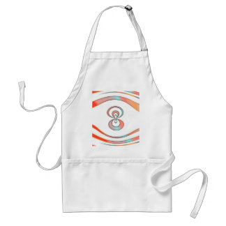 texture  and abstract background standard apron
