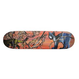 Texture Cats skateboard