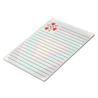 Texture colorful trendy  patttern notepad